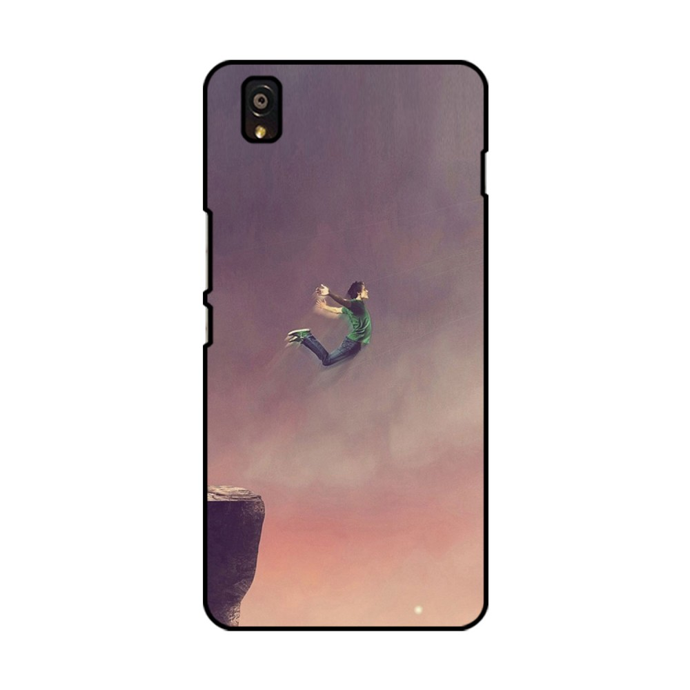 Boy Jumping Printed OnePlus Mobile Case