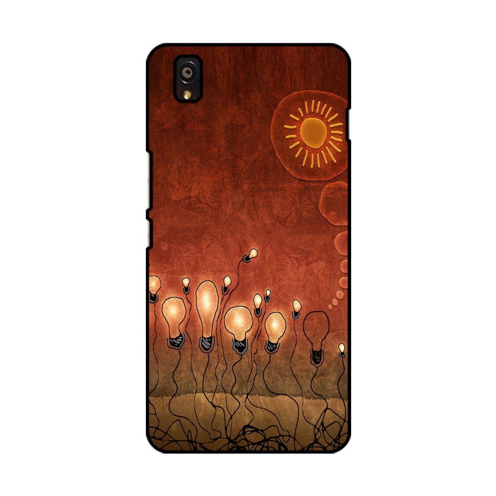 Glowing Bulbs Printed OnePlus Mobile Case