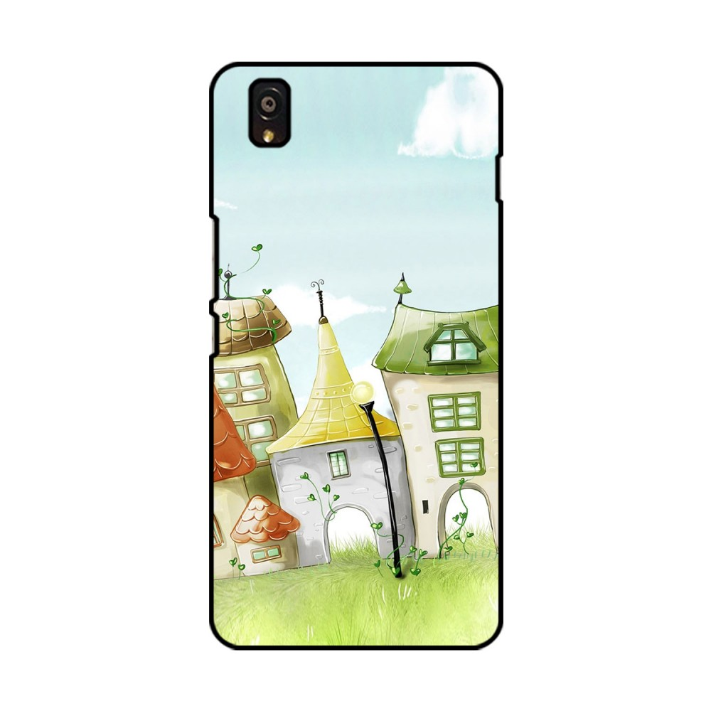 Animated Homes Printed OnePlus Mobile Case