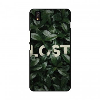 Lost Leaves Printed OnePlus Mobile Case