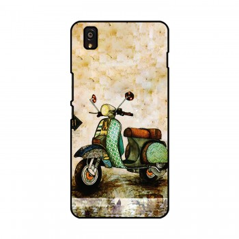 Vintage Bike Printed OnePlus Mobile Case