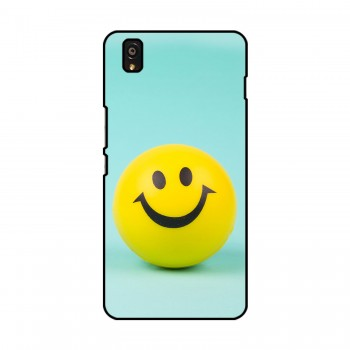 Smiley Printed OnePlus Mobile Case