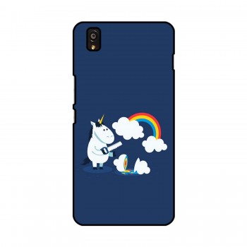 Unicorn with Rainbow Printed OnePlus Mobile Case
