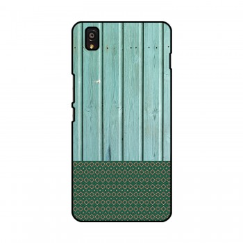 Green Wooden Pattern Printed OnePlus Mobile Case