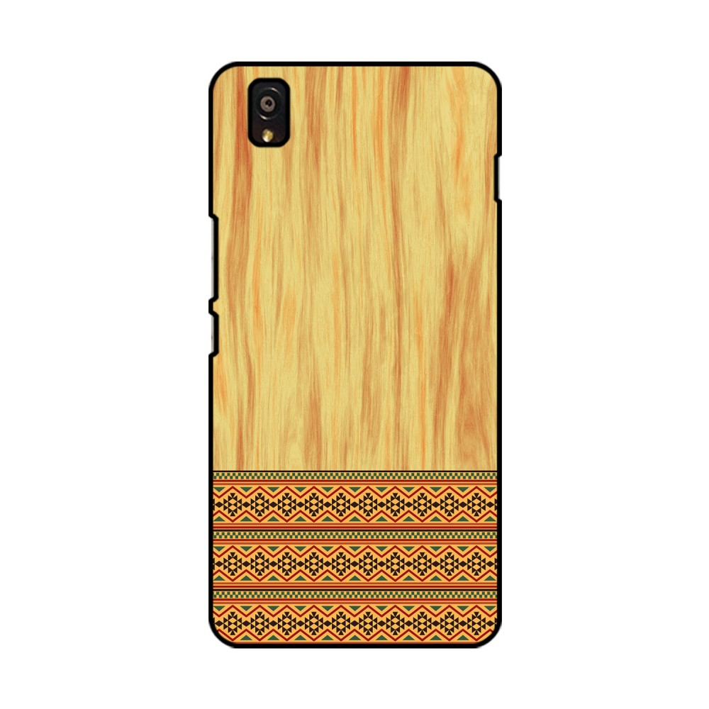 Brown Wooden Pattern Printed OnePlus Mobile Case