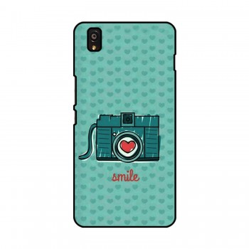 Camera Smile Printed OnePlus Mobile Case