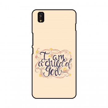 I am a Child of God Printed OnePlus Mobile Case