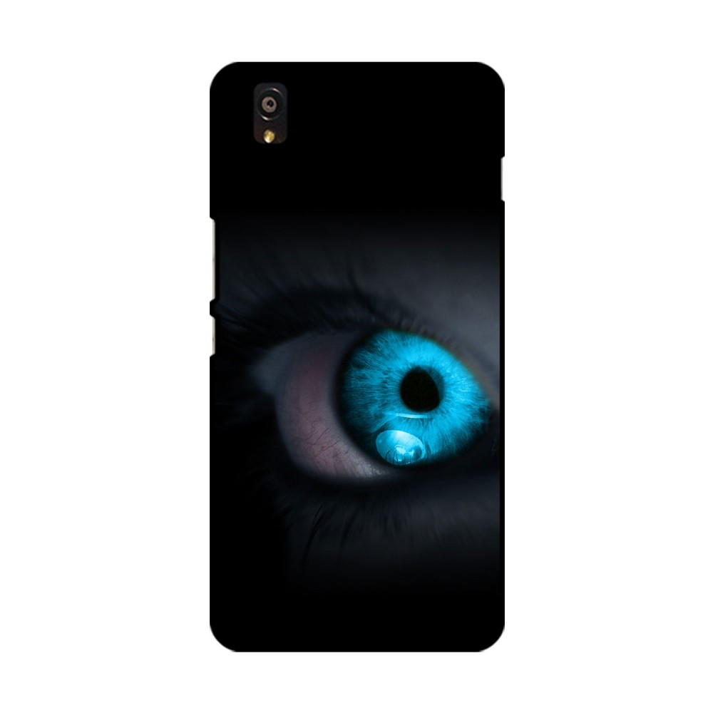 Blue Eye Printed OnePlus Mobile Case