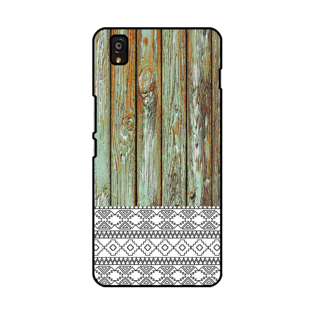 Wooden Pattern Printed OnePlus Mobile Case