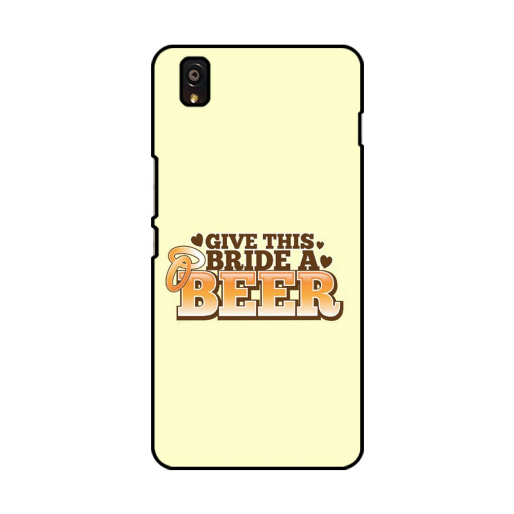 Give This Bride A Beer Printed OnePlus Mobile Case