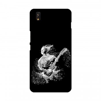 Man Water Filter Pattern Printed OnePlus Mobile Case