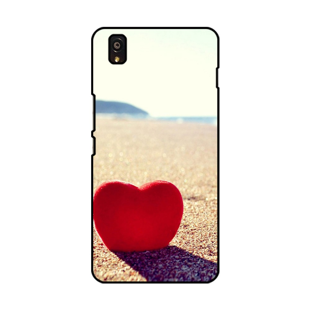 Red Heart Printed OnePlus Mobile Case