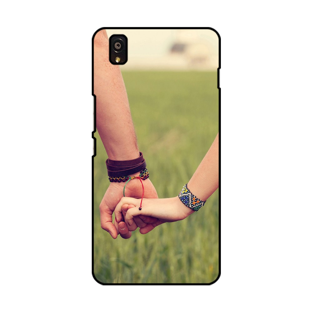 Hand In Hand Printed OnePlus Mobile Case