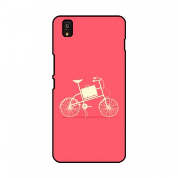 Vintage Bicycle Printed OnePlus Mobile Case