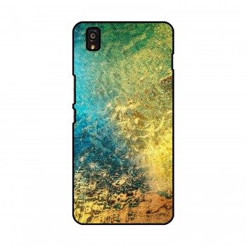 Color Water Printed OnePlus Mobile Case