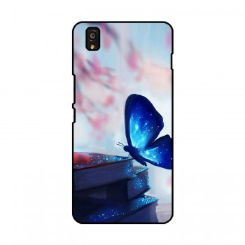 Magic Blue Butterfly Printed OnePlus Mobile Case