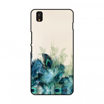 Peacock Feathers Printed OnePlus Mobile Case