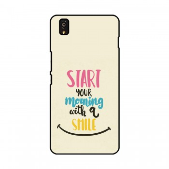 Morning Smile Printed OnePlus Mobile Case