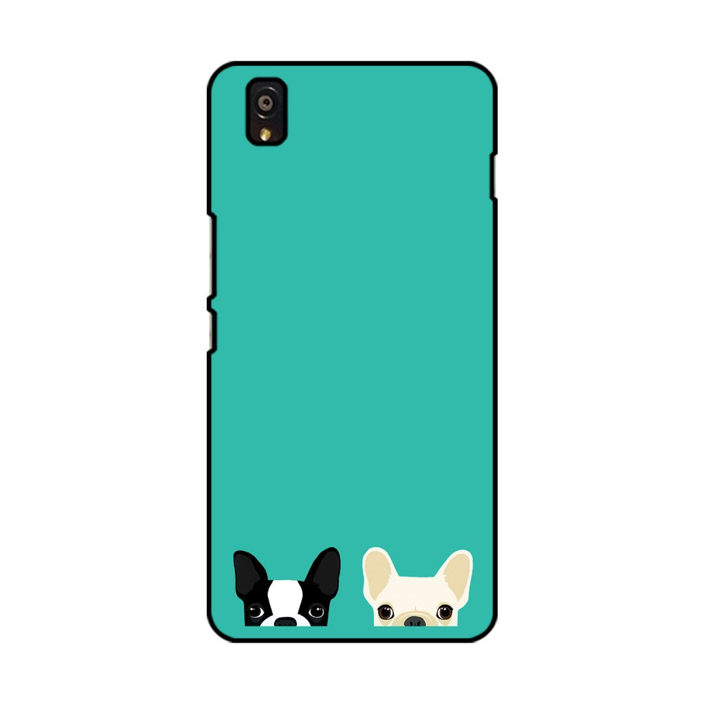 Two Dogs Printed OnePlus Mobile Case