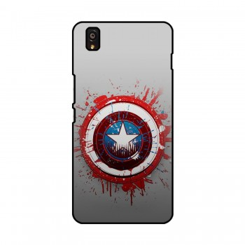 Captain America Printed OnePlus Mobile Case