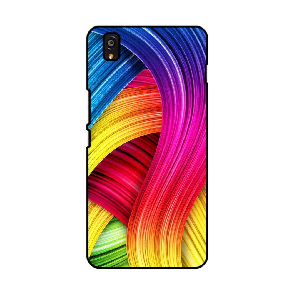 Color Pattern Printed OnePlus Mobile Case