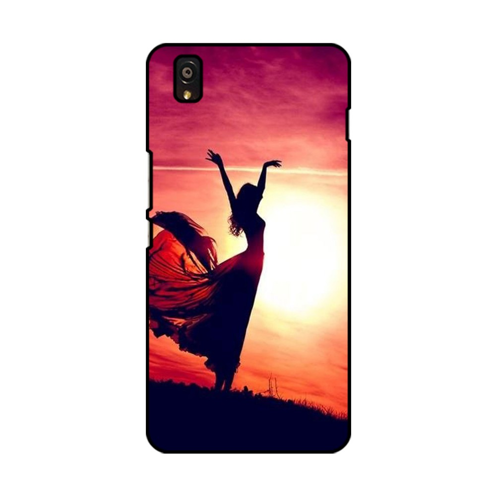 Woman Printed OnePlus Mobile Case