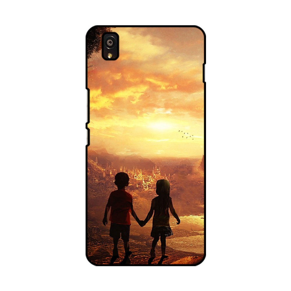 Kids Couple Printed OnePlus Mobile Case