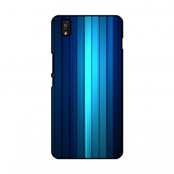 Blue Lines Printed OnePlus Mobile Case