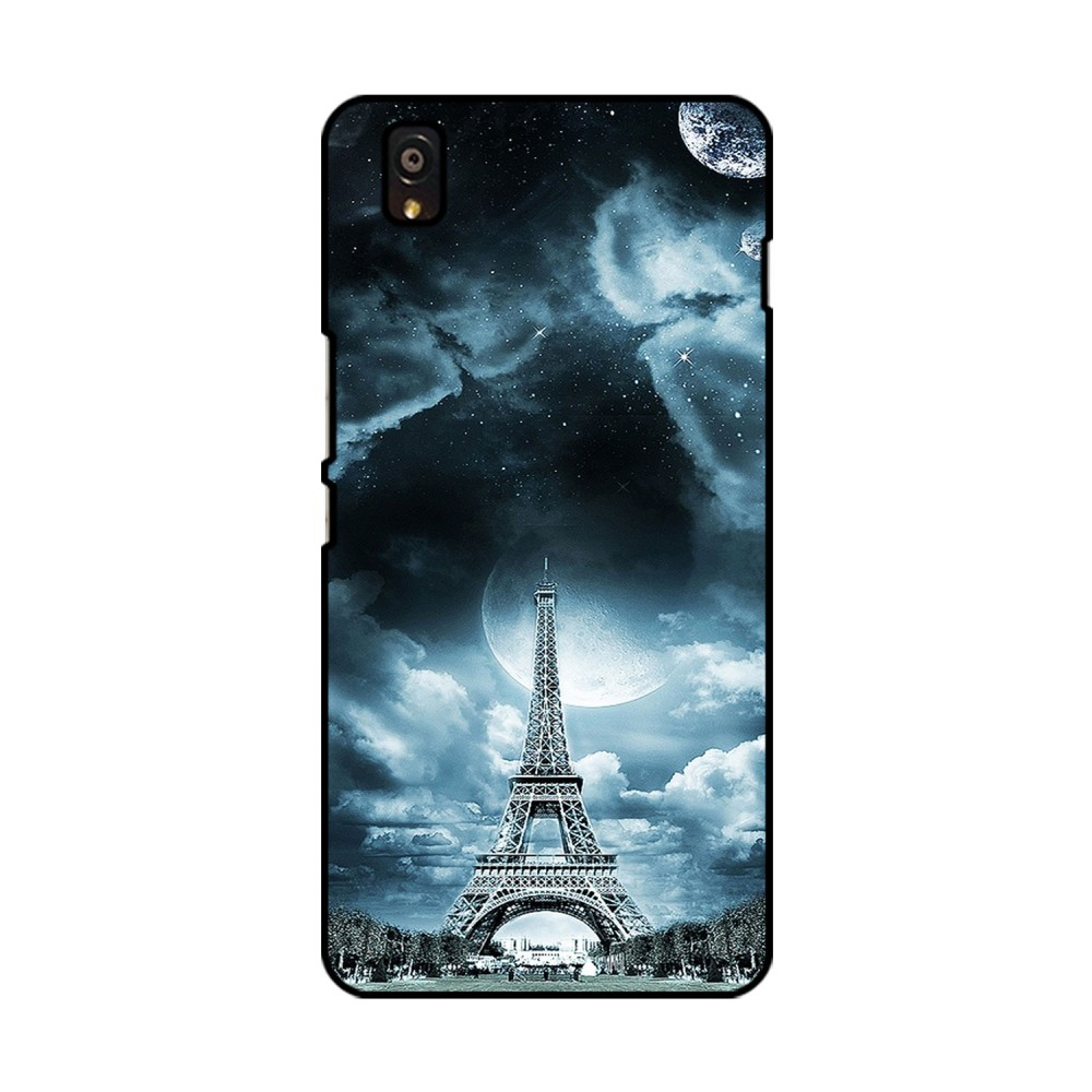 Eiffel Tower With Clouds Printed OnePlus Mobile Case