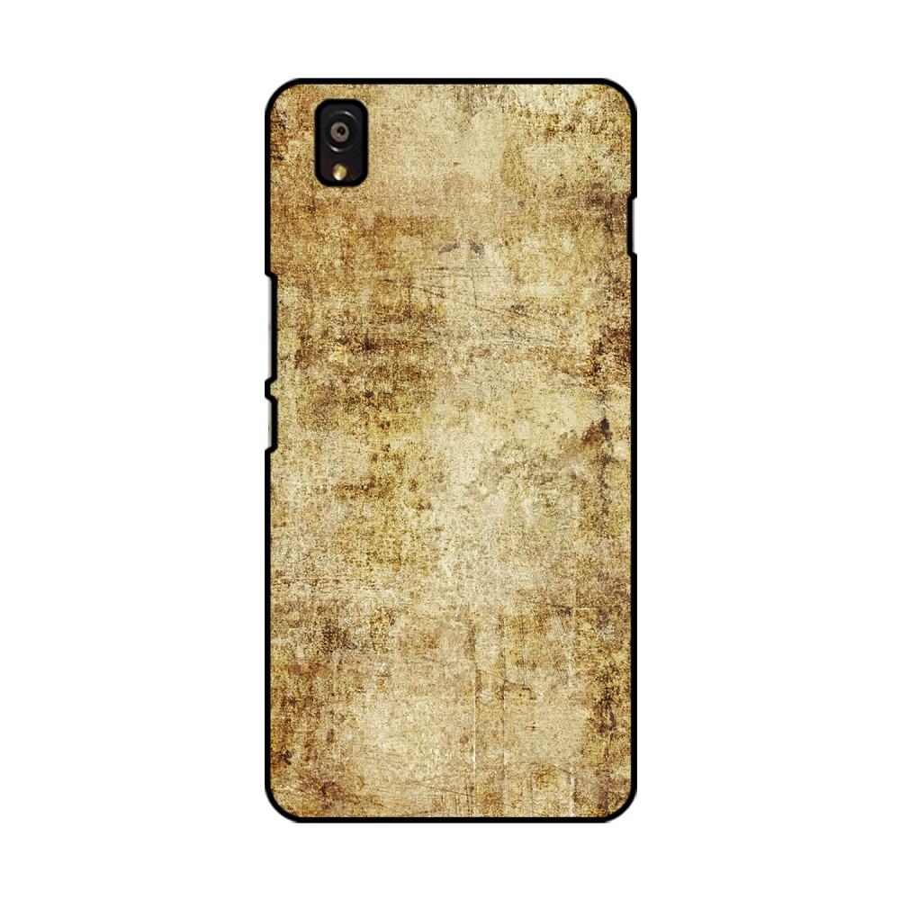 Brown Plain Background Printed OnePlus Mobile Case