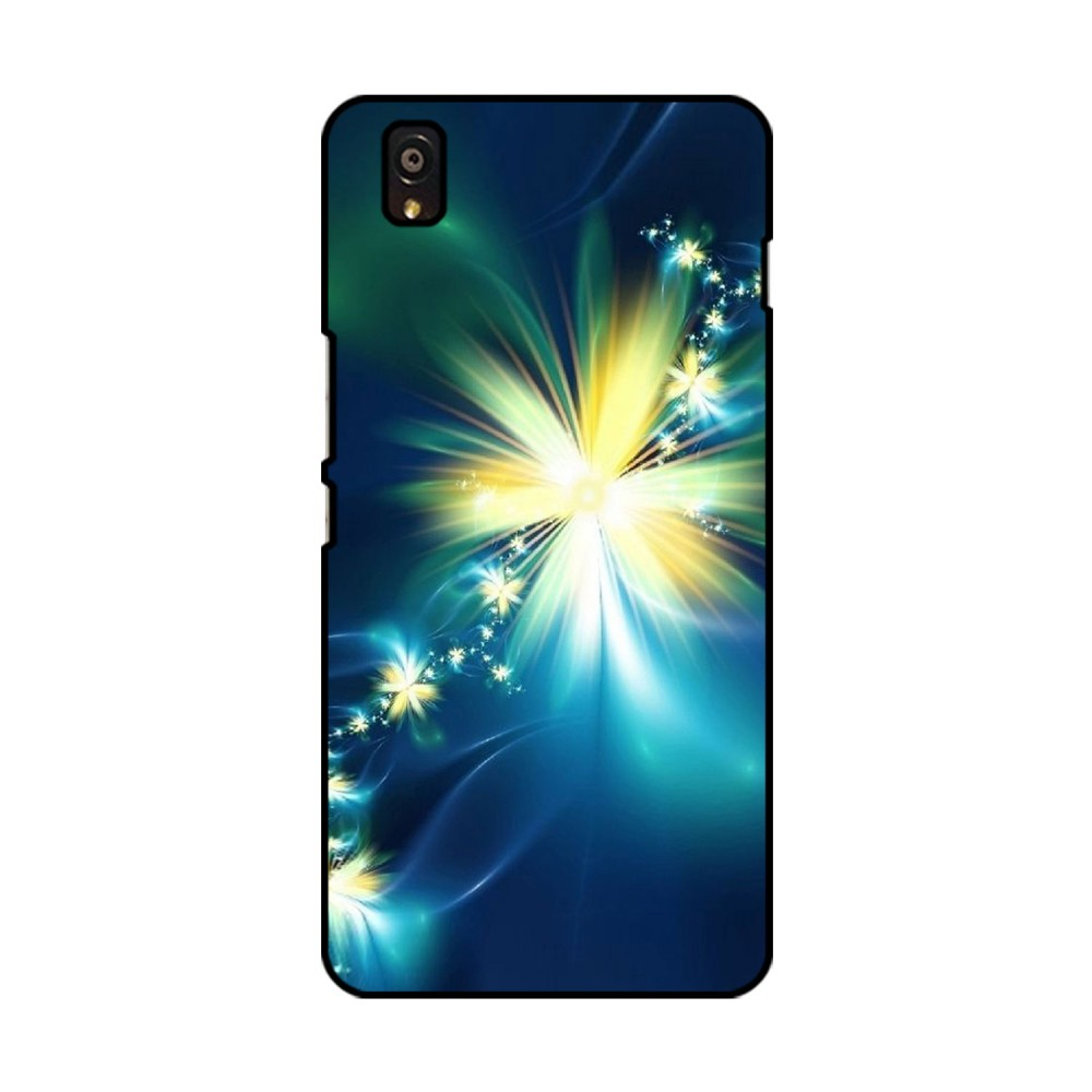 Glowing Flowers Printed OnePlus Mobile Case