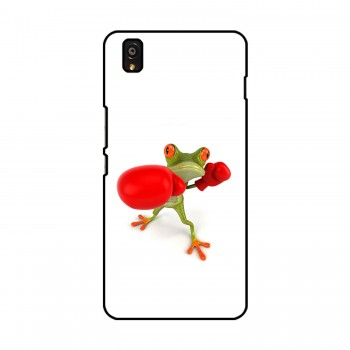 Boxer Frog Printed OnePlus Mobile Case