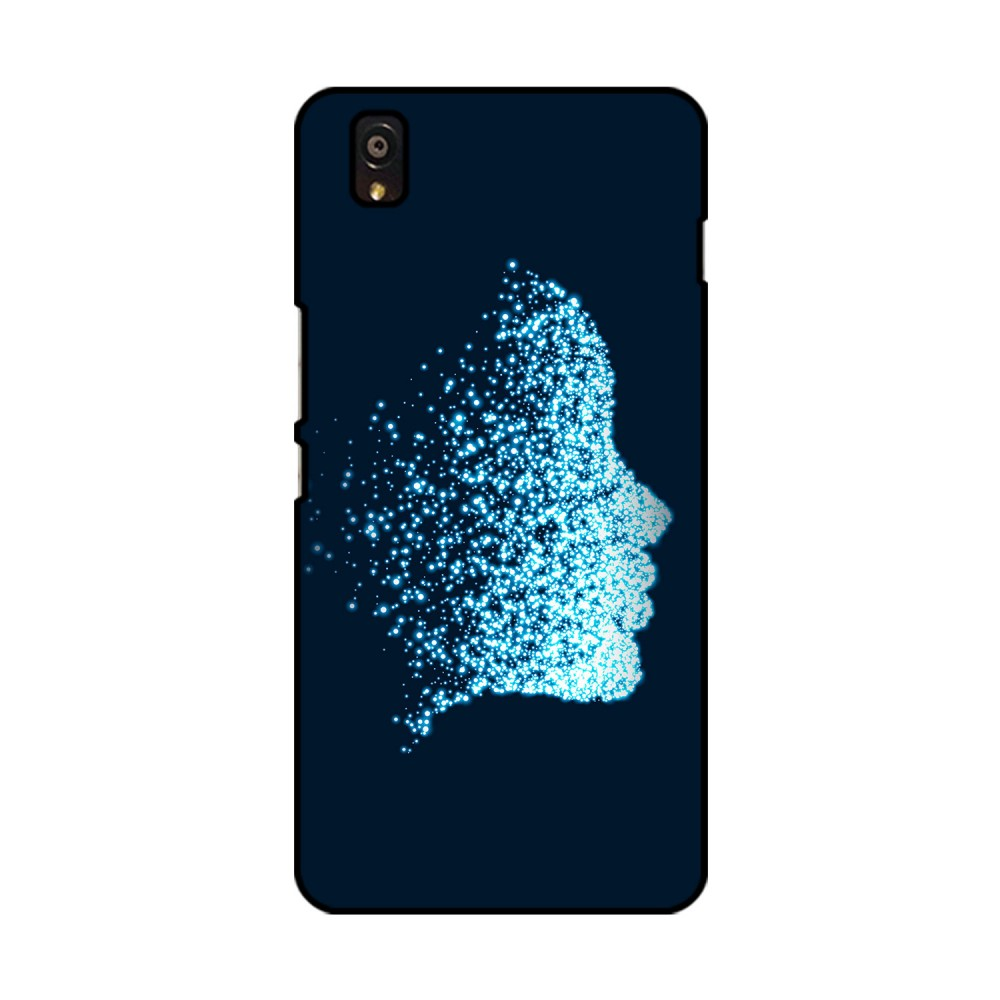 Glittering Face Printed OnePlus Mobile Case
