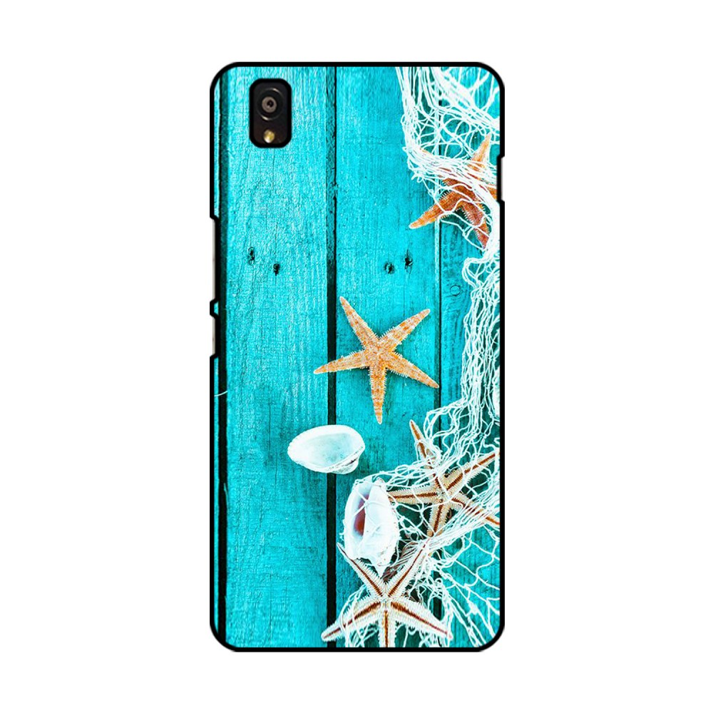 Sea Shells Printed OnePlus Mobile Case