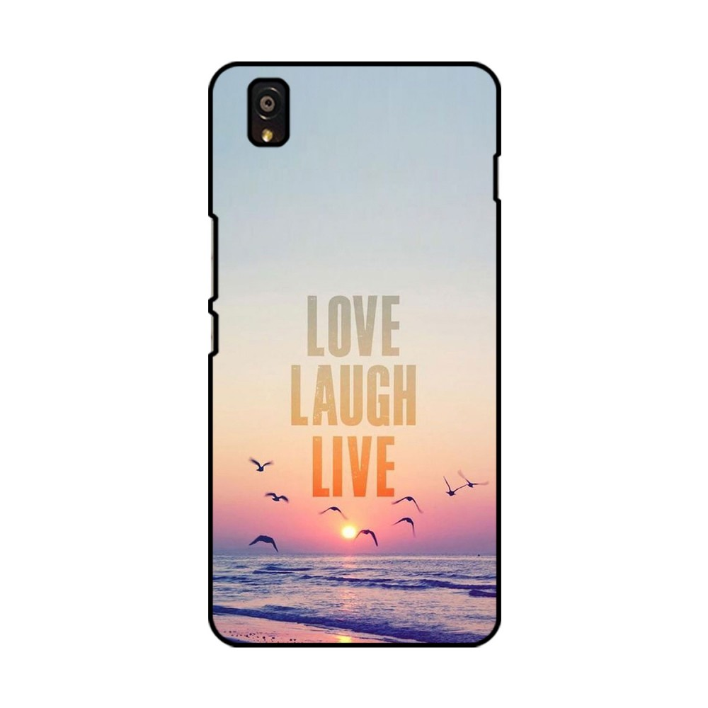 Love Laugh Live Printed OnePlus Mobile Case
