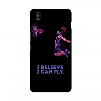 Believe Text Printed OnePlus Mobile Case