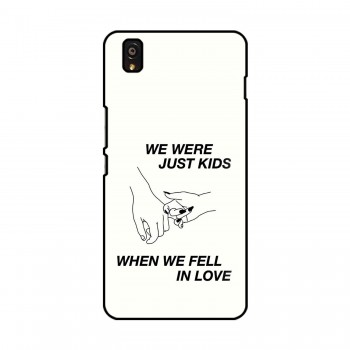 Kids Quote Printed OnePlus Mobile Case