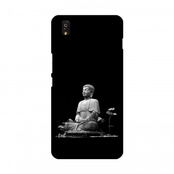 Peace Buddha Printed OnePlus Mobile Case