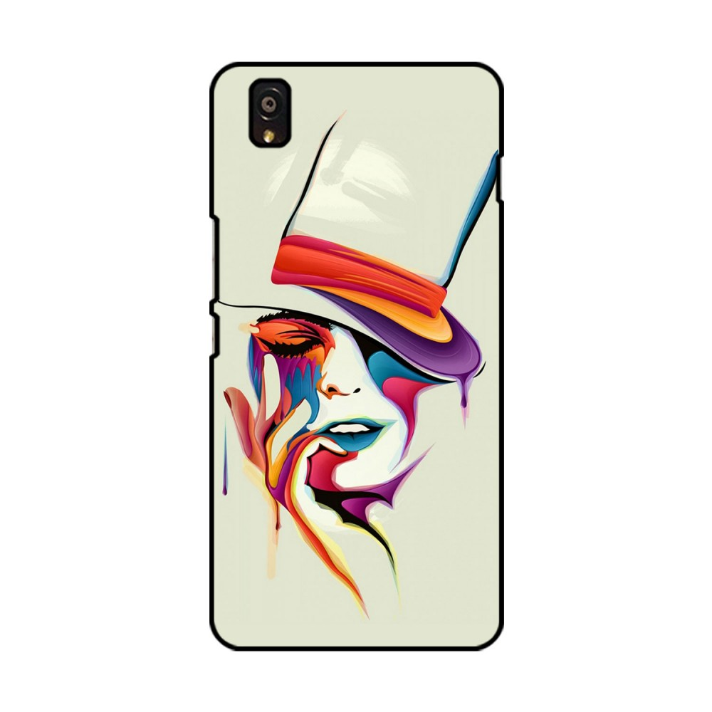 Colorful Woman Printed OnePlus Mobile Case