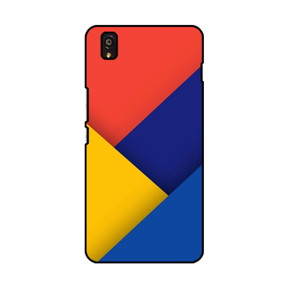 Colored Pattern Printed OnePlus Mobile Case