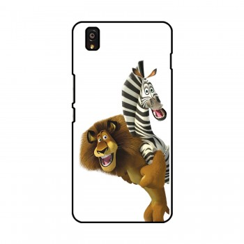Cartoon Animals Printed OnePlus Mobile Case