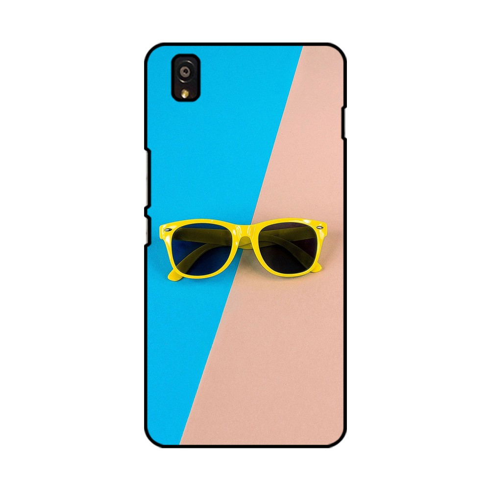 Yellow Spectacles Printed OnePlus Mobile Case