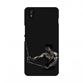 Bruce Lee Printed OnePlus Mobile Case