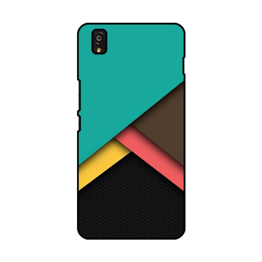 Multi Colored Pattern Printed OnePlus Mobile Case