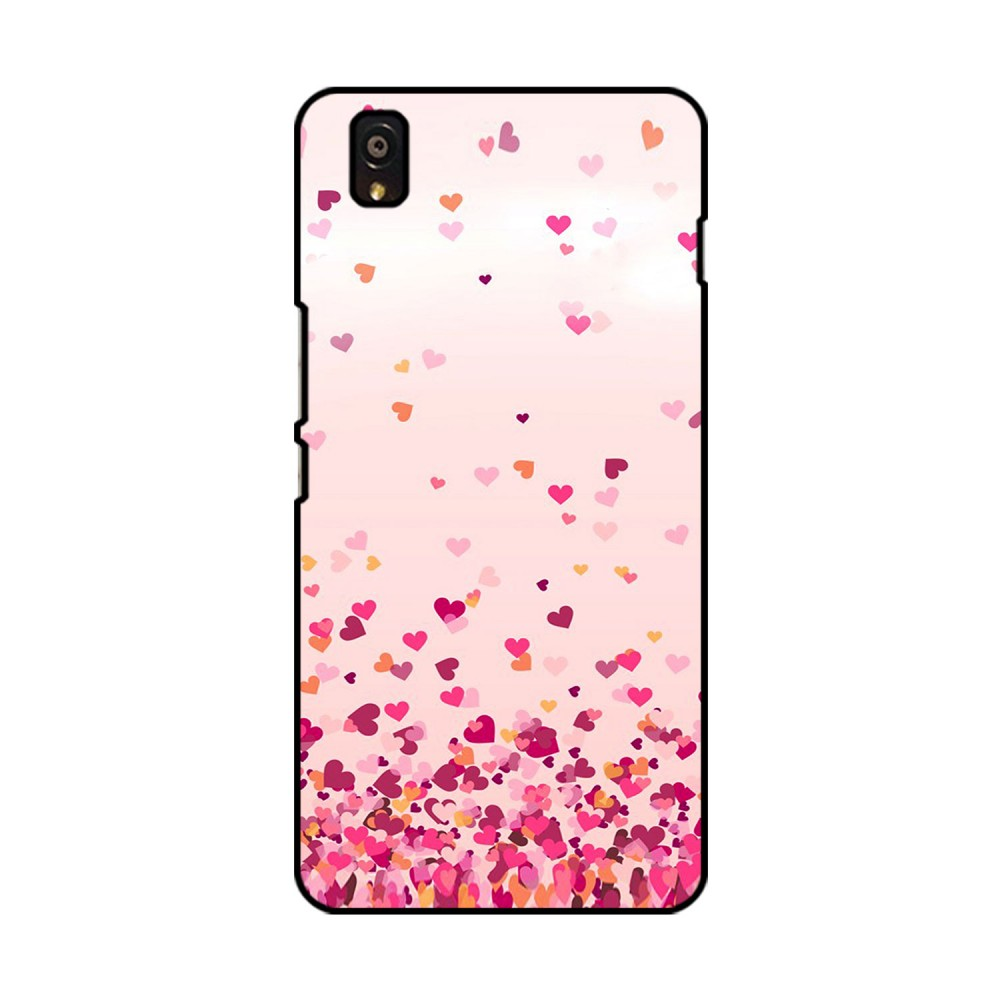 Flying Hearts Printed OnePlus Mobile Case