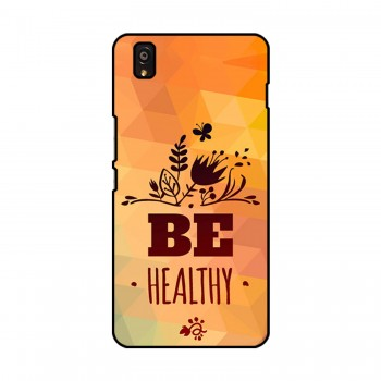 Be Healthy Printed OnePlus Mobile Case