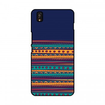 Horizontal Lines Colorful Pattern OnePlus Mobile Case