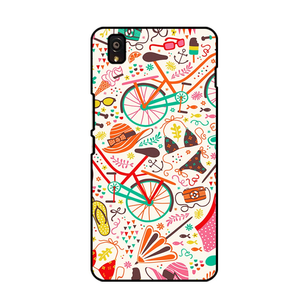 Doodles Pattern Printed OnePlus Mobile Case