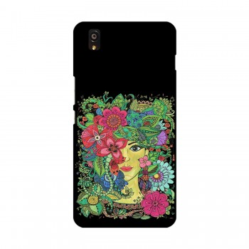 Colorful Flowers Design Printed OnePlus Mobile Case