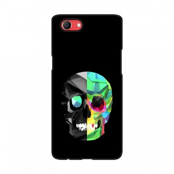 Skull Printed Oppo Mobile Case
